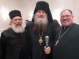Bishop Gerasim, Fr. Chudick and Fr. Gerken