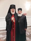 Archbishop Benjamin of San Francisco and Fr. Gerken
