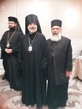 Bishop Daniel of Santa Rosa and Fr. Sergious